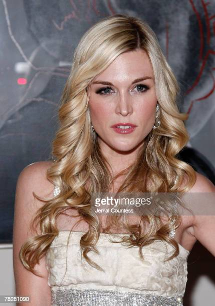 Socialite Tinsley Mortimer attends the Dolce Gabbana's The One Fragrance Launch and Private Dinner at The Grammercy Park Hotel on december 4 2007 in...