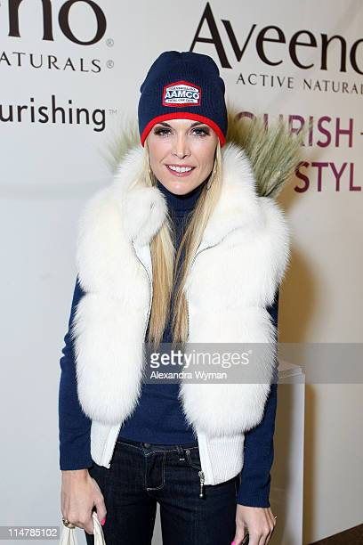 Socialite Tinsley Mortimer attends Village at the Yard during the 2010 Sundance Film Festival on January 23 2010 in Park City Utah