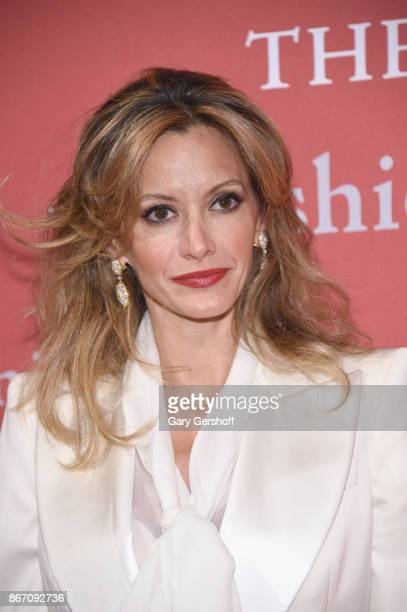 Socialite Ulla Parker attends the 2017 FGI Night Of Stars Modern Voices gala at Cipriani Wall Street on October 26 2017 in New York City