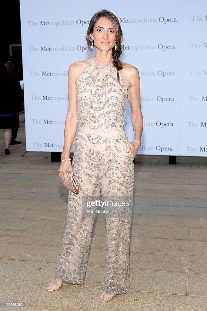 Metropolitan Opera Season Opening : News Photo