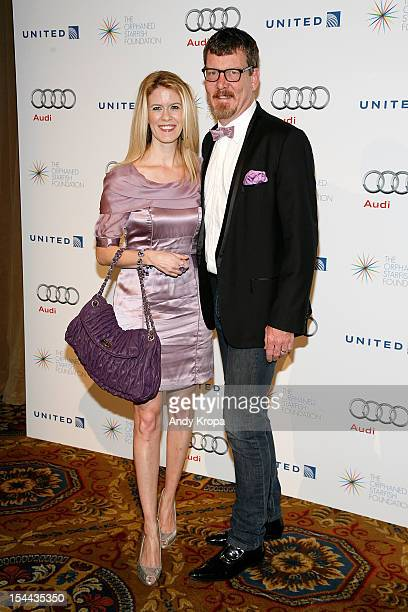 Socialites Alex McCord and Simon van Kempen attend the 2012 Orphaned Starfish Gala at Cipriani Wall Street on October 19 2012 in New York City