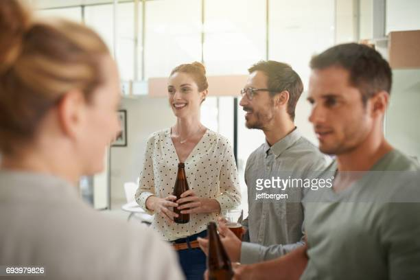 Socializing is all part of success