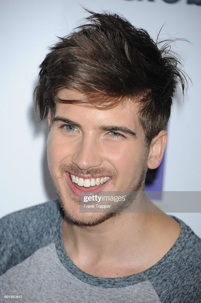 Sociall media personality Joey Graceffa attends Stand Up To Cancer