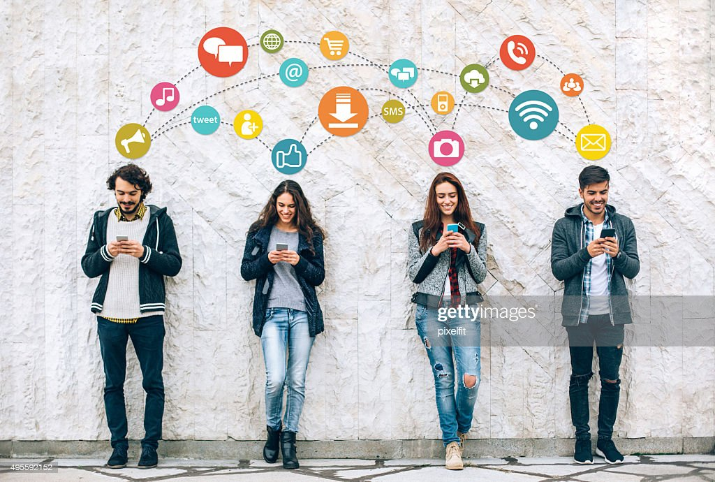 Sociall networking : Stock Photo