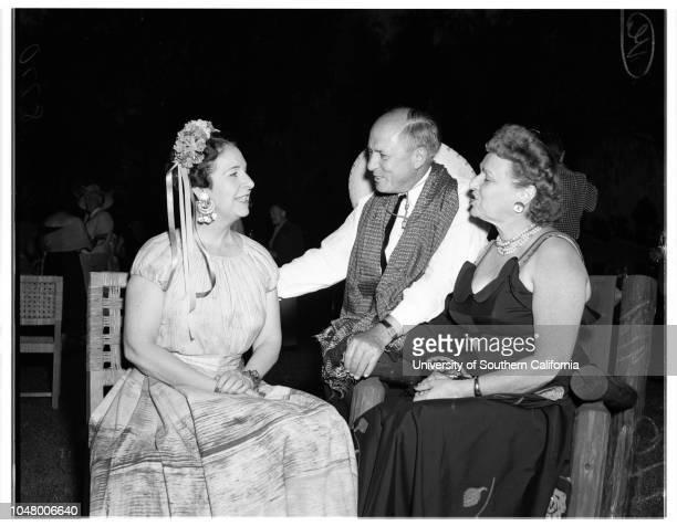 Society August 19 1951 Mrs Chester BowersMr and Mrs Peter RathvonMr and Mrs Charles EmeryMr and Mrs Russell HavenstriteHarold GrieveMr and Mrs Walt...