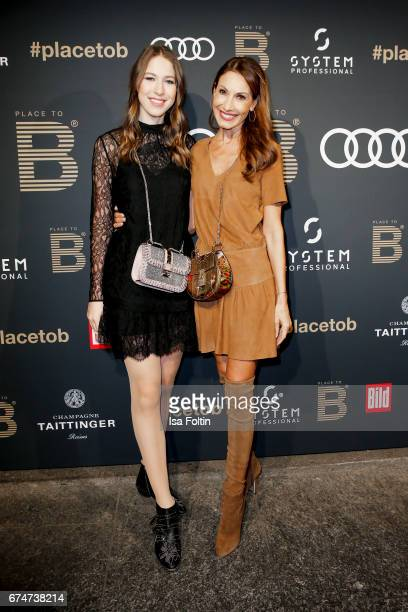 Society Lady Dagmer Koegel and her daughter Alana Siegel attend the Place To Be Party after the Lola German Film Award on April 28 2017 in Berlin...