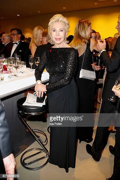 Society Lady UteHenriette Ohoven attends the 23rd Opera Gala at Deutsche Oper Berlin on November 5 2016 in Berlin Germany