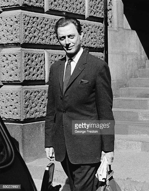 Society osteopath Dr Stephen Ward a leading figure in the Profumo Affair at the Old Bailey London July 29th 1963