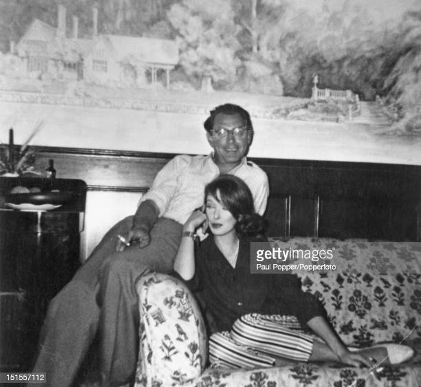 Society osteopath Stephen Ward with his girlfriend Margaret Brown circa 1963 Ward committed suicide on the last day of his trial for living off the...