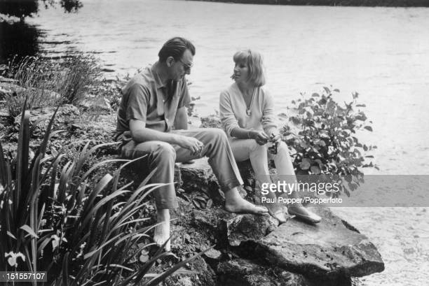 Society osteopath Stephen Ward with Ylia Suchanek circa 1963 Ward committed suicide on the last day of his trial for living off the profits of...