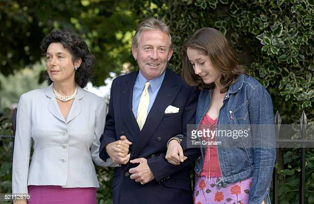 Society Party Hosted By Television Presenter David Frost At Carlyle Square In Chelsea London Society Gardener Roddy Llewellyn [ Friend Of Princess...