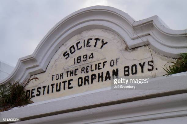 Society tomb for the relief od destitute orphan boys