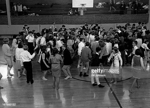 JAN 24 1965 FEB 2 1966 Sock Hop Turns Them Out The Wheat Ridge Youth Council staged its first afternoon Sock Hop after it found that area youngsters...