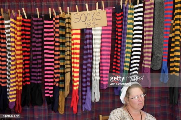 Socks for sale at the Big Cypress Shootout event at Billie Swamp Safari