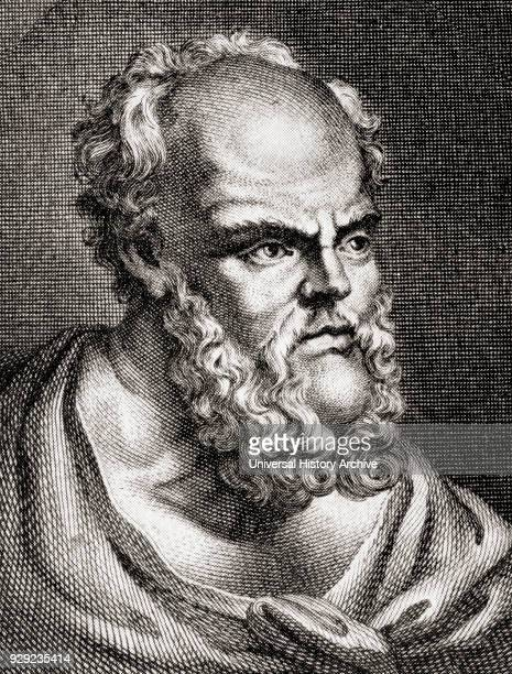 Socrates 470/469 BC – 399 BC Classical Greek philosopher From The Story of Philosophy published 1926
