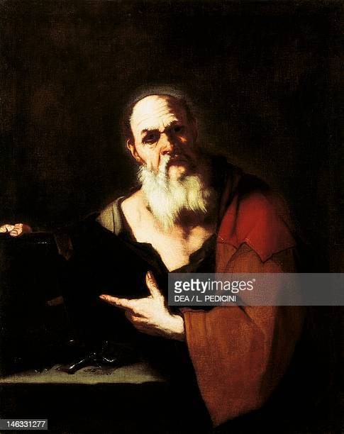 Socrates by Luca Giordano oil on canvas 121x96 cm