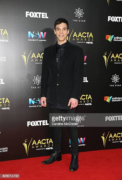 Socratis Otto arrives ahead of the 6th AACTA Awards Presented by Foxtel at The Star on December 7 2016 in Sydney Australia