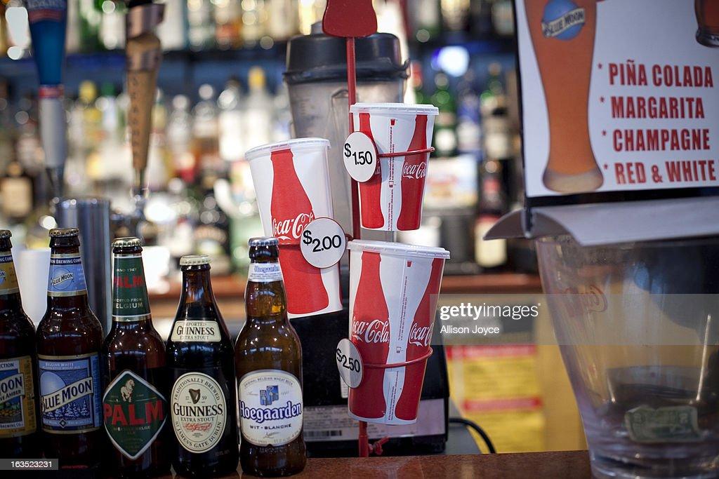 State Judge Blocks Mayor Bloomberg's Ban On OverSized Sugary Drinks  : News Photo