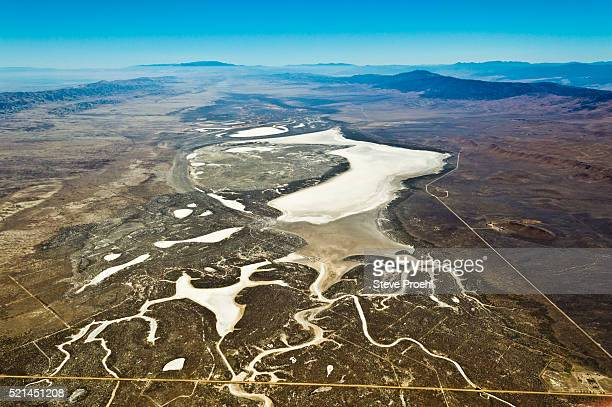 soda lake - san andreas fault stock pictures, royalty-free photos & images