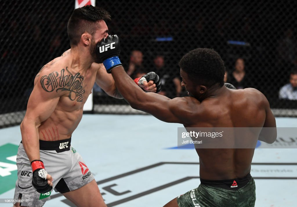 UFC Fight Night: Mokhtarian v Yusuff : News Photo