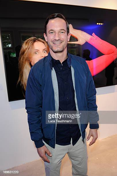 Soehnke Moehring attends the Niels Ruf Art Exhibition at Camera Works on May 29, 2013 in Berlin, Germany.