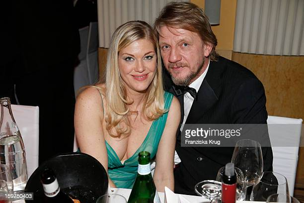 Soenke Wortmann and his wife Cecilia Kunz attend the Germany Filmball 2013 on January 19 2013 in Munich Germany