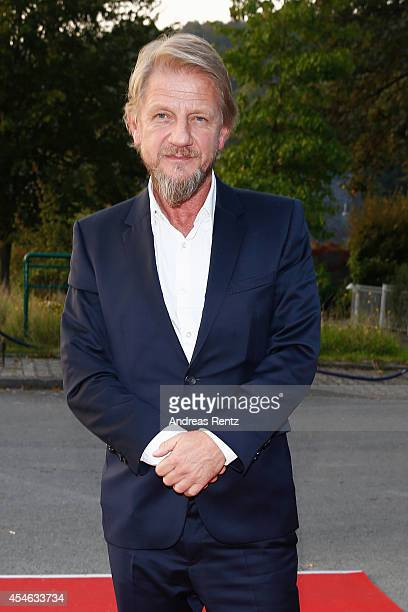 Soenke Wortmann arrives for the Charlie Award ceremony during the Campus Symposium Change Fear of the Future or New Vision on September 4 2014 in...