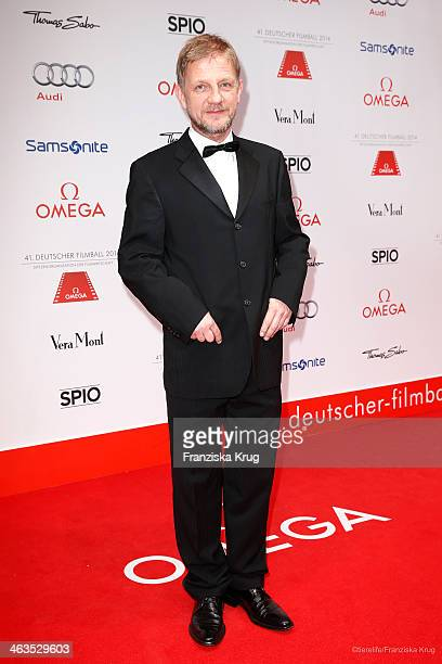 Soenke Wortmann attends the German Film Ball 2014 on January 18 2014 in Munich Germany