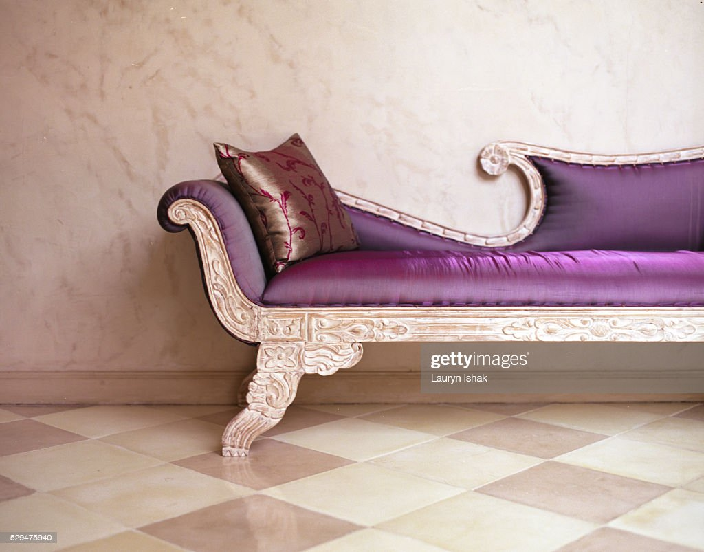 Sofa at The Shaba luxury hotel : Stock Photo