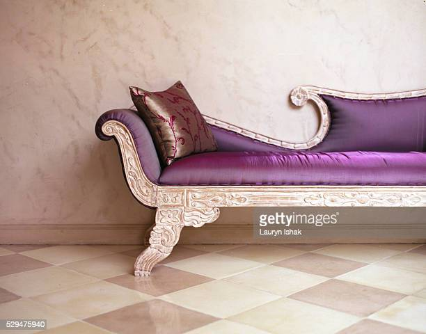 Sofa at The Shaba luxury hotel