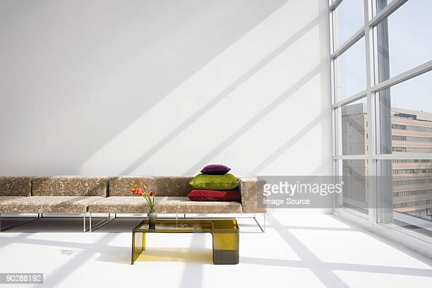 Sofa in a modern living room