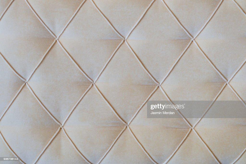 Sofa surface background : Stock Photo