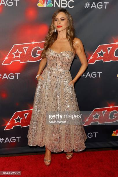 """Sofía Vergara attends """"America's Got Talent"""" Season 16 Finale at Dolby Theatre on September 15, 2021 in Hollywood, California."""