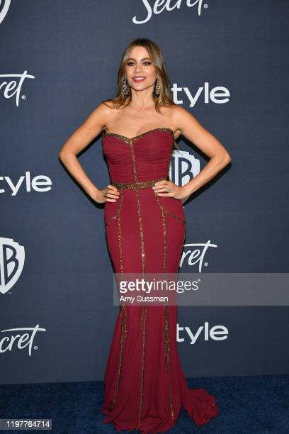 Sofía Vergara attends the 21st Annual Warner Bros And InStyle Golden Globe After Party at The Beverly Hilton Hotel on January 05 2020 in Beverly...