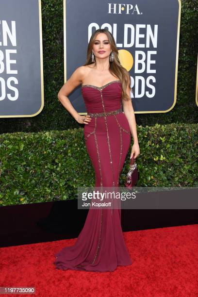 Sofía Vergara attends the 77th Annual Golden Globe Awards at The Beverly Hilton Hotel on January 05 2020 in Beverly Hills California