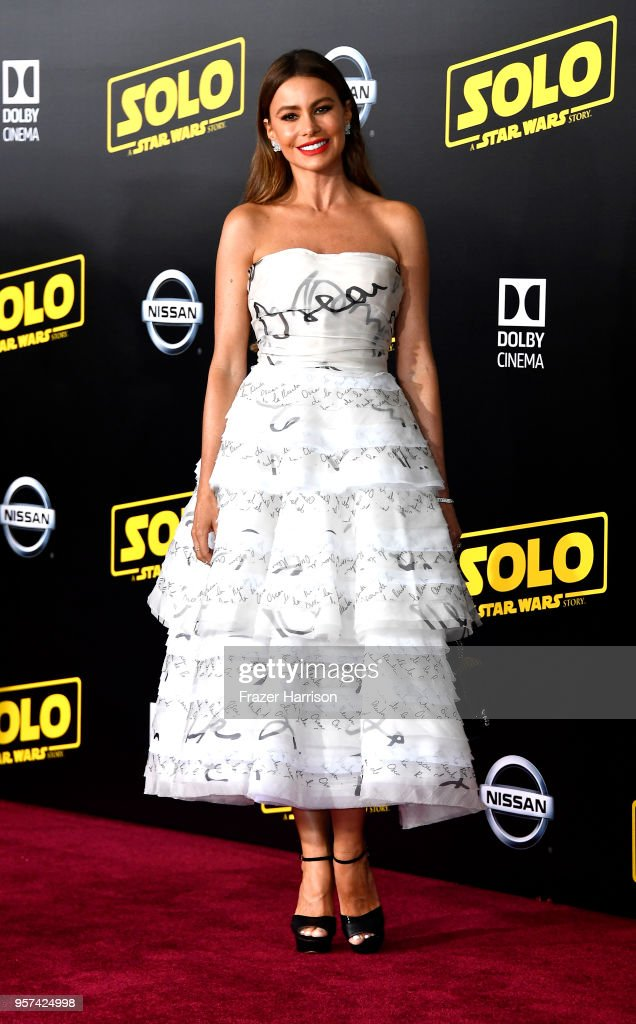 Sof'a Vergara attends the Premiere Of Disney Pictures And Lucasfilm's 'Solo: A Star Wars Story' on May 10, 2018 in Los Angeles, California.