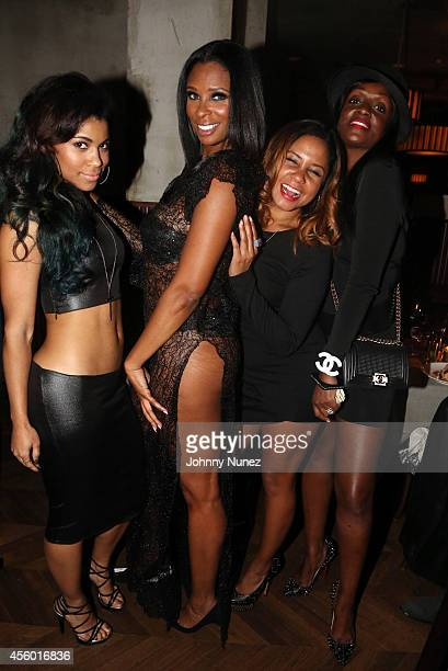 Sofi Green Jennifer Williams Angela Yee and Shauna Neely celebrate Jennifer Williams' birthday at Monarch on September 23 2014 in New York City
