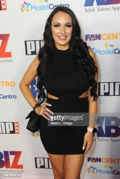 Sofi Ryan arrives for XBIZ Rise Adult Talent Appreciation Gala held at Exchange LA on November 14 2018 in Los Angeles California