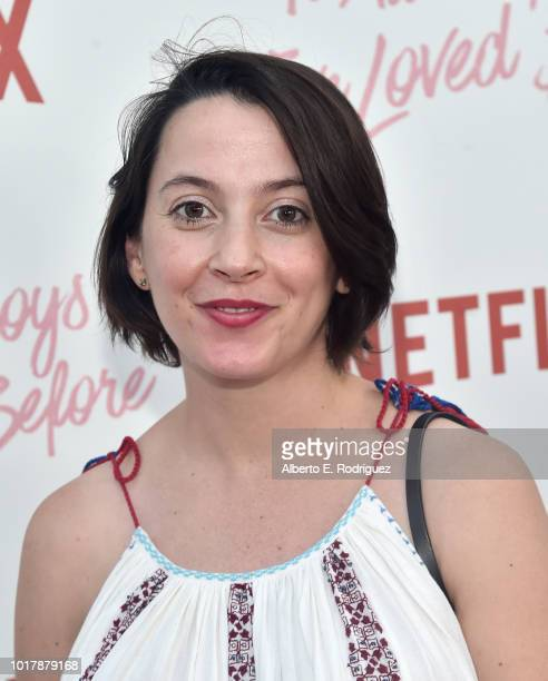 Sofia Alvarez attends a screening of Netflix's 'To All The Boys I've Loved Before' at Arclight Cinemas Culver City on August 16 2018 in Culver City...