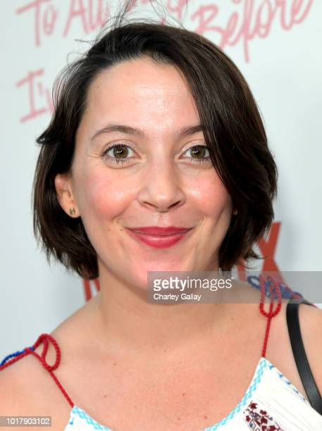 Sofia Alvarez attends Netflix's 'To All the Boys I've Loved Before' Los Angeles Special Screening at Arclight Cinemas Culver City on August 16 2018...