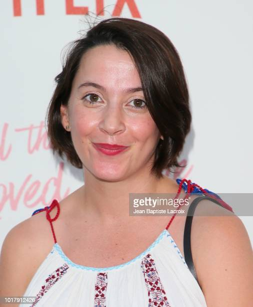 Sofia Alvarez attends the Screening Of Netflix's 'To All The Boys I've Loved Before' Arrivals at Arclight Cinemas Culver City on August 16 2018 in...