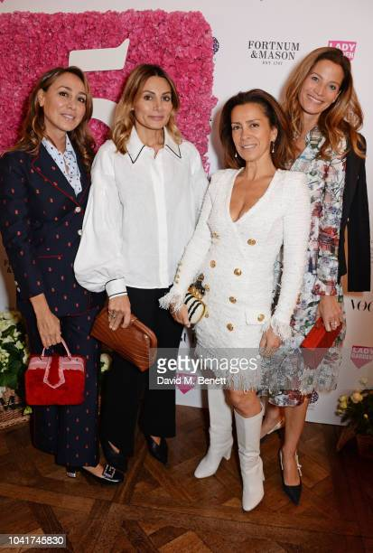 Sofia Barattieri Narmina Marandi Guest and Julia Baumhoff attend the 5th annual Lady Garden lunch in support of the Silent No More Gynaecological...