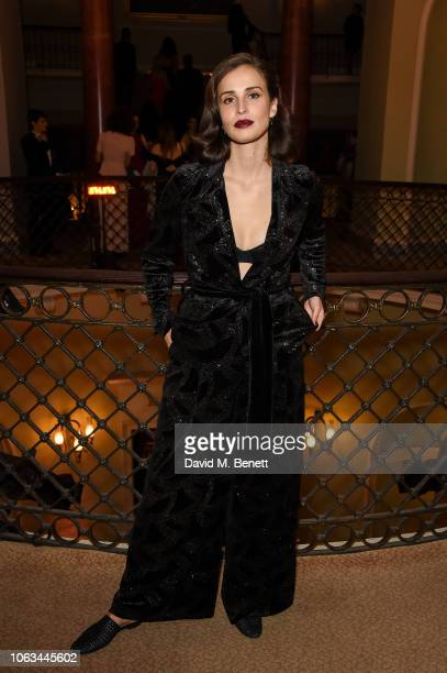 Sofia Barclay attends The 64th Evening Standard Theatre Awards at the Theatre Royal Drury Lane on November 18 2018 in London England