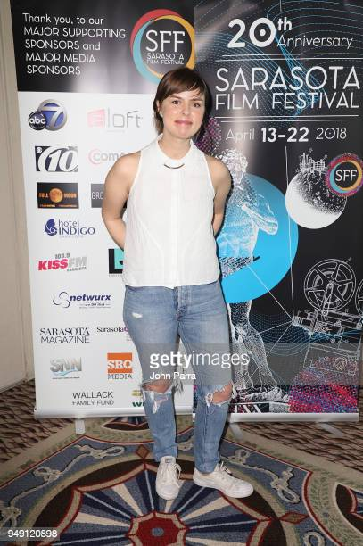 Sofia Bohdanowicz attends the 2018 Sarasota Film Festival on April 20 2018 in Sarasota Florida