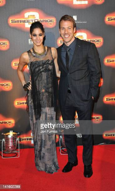 Sofia Boutella and Falk Hentschel attend the world premiere of Streetdance2 3D at O2 Arena on March 19 2012 in London England