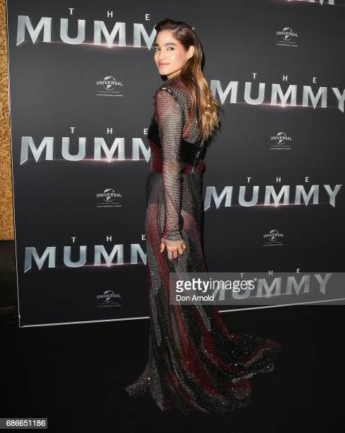 Sofia Boutella arrives ahead of The Mummy Australian Premiere at State Theatre on May 22 2017 in Sydney Australia