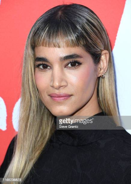 """Sofia Boutella arrives at the Los Angeles Premiere Of Lurker Productions' """"Love, Antosha"""" at ArcLight Cinemas on July 30, 2019 in Hollywood,..."""