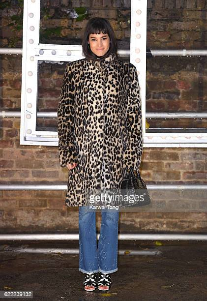 Sofia Boutella arrives for the Stella McCartney Resort collection and menswear launch at Abbey Road Studios on November 10 2016 in London England