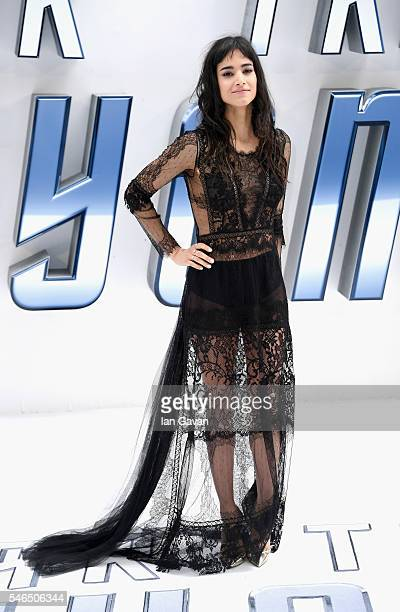 Sofia Boutella arrives for the UK premiere of Star Trek Beyond at Empire Leicester Square on July 12 2016 in London UK
