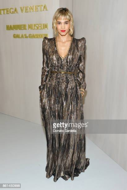 Sofia Boutella at the Hammer Museum 15th Annual Gala in the Garden with Generous Support from Bottega Veneta on October 14 2017 in Los Angeles...
